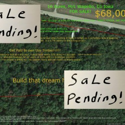 Wapello 16 sale pending